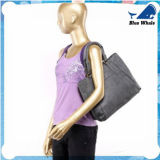 Spalla femminile del Louis del sacchetto casuale della spiaggia della tela di canapa della borsa delle donne