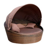 Outdoor Rattan Chair Garden Furniture Daybed Sun Beach Lying Bed