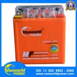 A melhor bateria da motocicleta do gel do Mf 12V 5ah da potência de Vasworld do tipo da bateria da motocicleta
