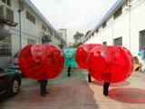 Kundenspezifische im Freien aufblasbare Fußball-Luftblasen-Kugel für Verkauf