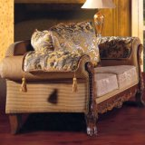 Wohnzimmer-Möbel mit hölzernem Sofa stellten ein (D92)