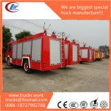 carros de bombeiros da escada da espuma da água de 600p Isuzu para a venda
