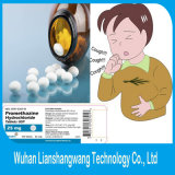 Ácido clorhídrico CAS de Promethazine de la droga del grado de la farmacia: 58-33-3 para la tos que vuelve a vivir