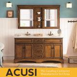 Amerikanische einfache Art-heiße verkaufende festes Holz-Badezimmer-Eitelkeit (ACS1-W21)