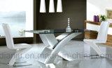 고정되는 유리제 테이블 (A6020)를 식사하는 최신 판매 특별한 디자인