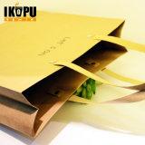 음식 패킹 쇼핑을%s 손잡이를 가진 주문을 받아서 만들어진 서류상 선물 부대