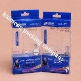 Impressão de cor cheia de China que move caixas de dobramento do plástico do PVC para o pacote cosmético