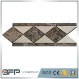 浴室の壁のタイルのための新しい到着のストリップの大理石のモザイクボーダー