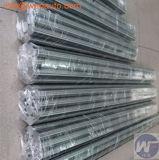 Longueur barres plaquées par chrome dur de 1-6 mètres