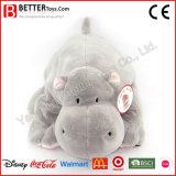 Stuk speelgoed Hippo van de Pluche van de Dieren van de Fabriek van China het Zachte