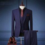 Três partes do terno dos homens para o casamento/negócio/noite/igreja/lazer
