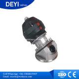 Klep van het Diafragma van het roestvrij staal de Sanitaire Pneumatische (dy-V101)