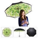 Ombrello d'inversione invertito delle automobili dell'ombrello di doppio strato
