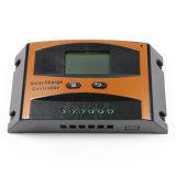 デジタルSettable LCDの表示Ld10Aが付いている太陽コントローラ10A 12V 24Vの太陽調整装置