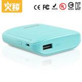 pouvoir de téléphone de couleur personnalisé par côté portatif de pouvoir du téléphone mobile 4000mAh