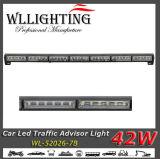 Luz de advertência de piscamento da seta do diodo emissor de luz de W do conselheiro 42 do tráfego de caminhão