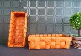 자연적인 대나무는 Handmade 빵 바구니를 떠난다