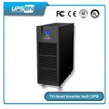 Pouvoir en ligne à haute fréquence 6kVA - 10kVA d'UPS avec la technologie d'inverseur et le rendement à trois nivaux de 94%