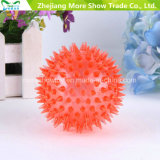 "3 ""Flashing Hedgehog Ball Light-up Spiky novidade Sensory Bouncing Balls"