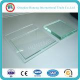 vidrio de flotador de cristal del claro de 3m m 4m m 5m m con Ce de la ISO