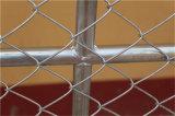 Загородка звена цепи с вертикальной штангой
