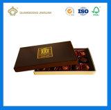 Изготовленный на заказ роскошная причудливый бумажная коробка подарка конфеты шоколада упаковывая (с подносом рассекателя)