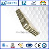Comitato di alluminio della pietra del favo per il rivestimento della parete