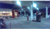 Coste de la eficacia 135LMW del alumbrado de IP67 Ik09 Lm80 del pabellón de la gasolinera