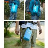 Fleuve de hausse portatif imperméable à l'eau de sac sec de course extérieure ultra-légère transportant les petits sacs 2L secs de natation