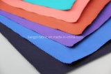 Tessuto tinto parte spazzolato della saia del cotone con la stirata