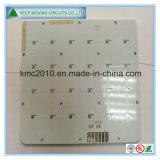 Das 1 Schicht-Al gründete gedruckte Schaltkarte mit weißer Lötmittel-Schablone