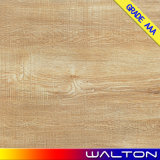 Walton 600X600 rustikale Fußboden-hölzerne Fliese glasig-glänzende Porzellan-Fliese-Keramikziegel (WT-66014)