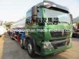 Caminhão de óleo HOWO T5g 8X4 com petroleiro de combustível de 25000L