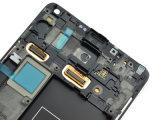 Samsungギャラクシーノート4 N910 N910s LCDスクリーンのためのLCD表示のタッチ画面の計数化装置アセンブリ