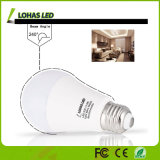 세륨 RoHS UL A19 E26 고성능 5000k 13W 15W LED 전구