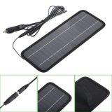 4.5W 18V bewegliche Sonnenkollektor-Aufladeeinheit für Ladegerät-Solarzellen-Aufladeeinheit des Auto-12V/des Bootes/des Motors