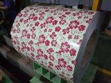 Катушка стали CGCC Ral5020 PPGI Yehui Prepainted гальванизированная стальная катушка для материала толя