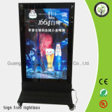 Supermarché Publicité LED Outdoor Display Light Box