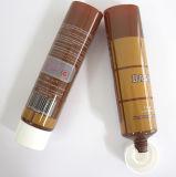 Empaquetado cosmético vacío del tubo plástico