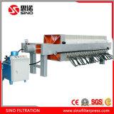 Eficacia alta y prensa de filtro de desecación de membrana del mejor lodo del precio