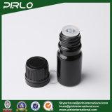 бутылки черного эфирного масла 5ml стеклянные с черной крышкой винта