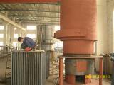 熱気の炉の非常に熱いガス