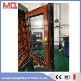 Guichet en aluminium de Chambre d'interruption thermique de luxe dans Guangzhou