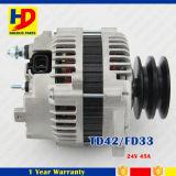 Alternador de los recambios del motor Td42/Fd33 para Nissan