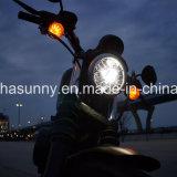 5.75 '' 50W Harley LED Projektions-Scheinwerfer für Motorräder die schwarze &Sliver Farbe erhältlich