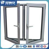 perfil de aluminio que pinta (con vaporizador) del polvo blanco del color 6063t5 para la ventana de aluminio