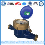 DN15mm Multi Jet Limpieza Dail del contador del agua del cuerpo del hierro, latón y bronce cubierta de montaje