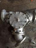 Y-Tipo valvola a sfera a tre vie a tre vie della flangia 3-Port Q42f dell'acciaio inossidabile