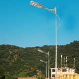 Antique High Lumen Sensor Solar Outdoor Lighting Pole Lamp