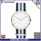 La nueva llegada Yxl-495 hizo punto a señora de nylon reloj de los relojes de Mens de la alineada ocasional del reloj de Ginebra de los hombres de la tira de la OTAN de la lona